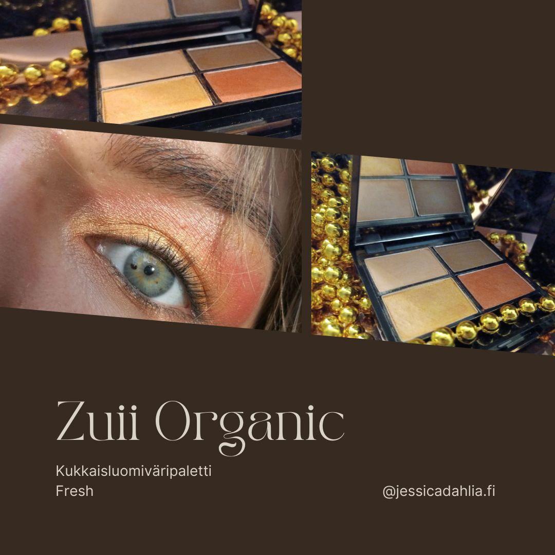 Zuii Organic Kukkaisluomiväripaletti Fresh