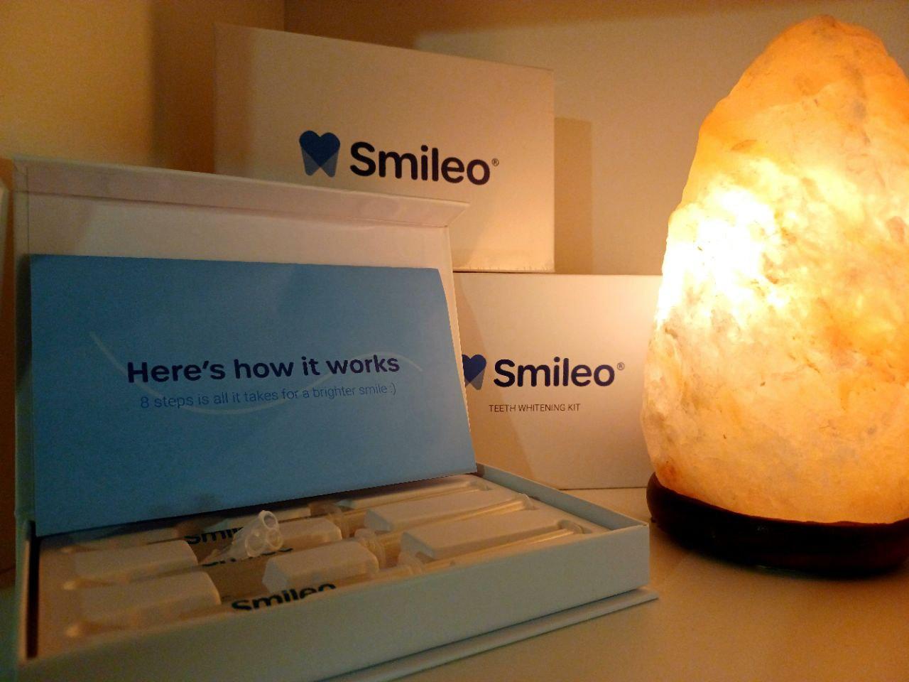Smileo hampaiden valkaisusetti täyttöpakkaus kokemuksia